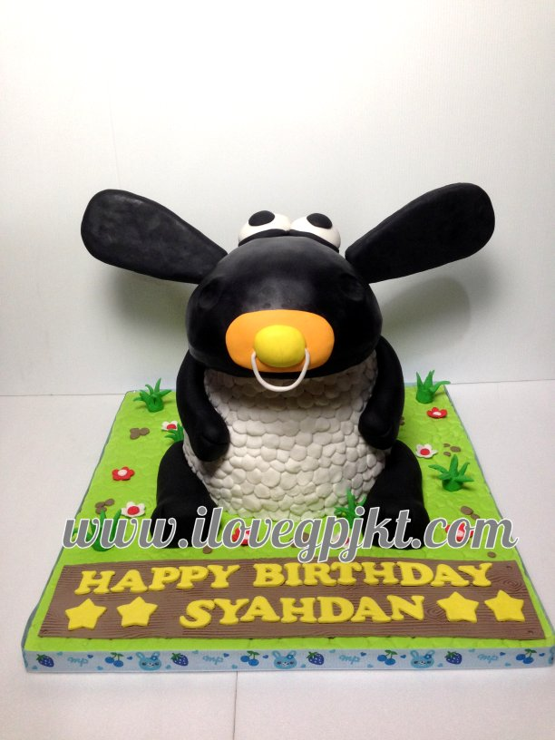 Posted In 3D Carved Cake Decoration Cartoon Characters Shaun The Sheep Timmy Time
